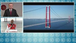 Başkan Erdoğan Tarihi 1915 Çanakkale Köprüsü'nün Töreninde çok SERT konuştu!