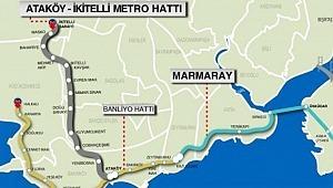İBB Başkanı Ekrem İmamoğlu,İkitelli-Ataköy Metro Hattı'nda İlk Kaynağı Atacak