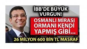 CHP İstanbul Büyükşehir Belediyesi'nde büyük bir soygun daha!
