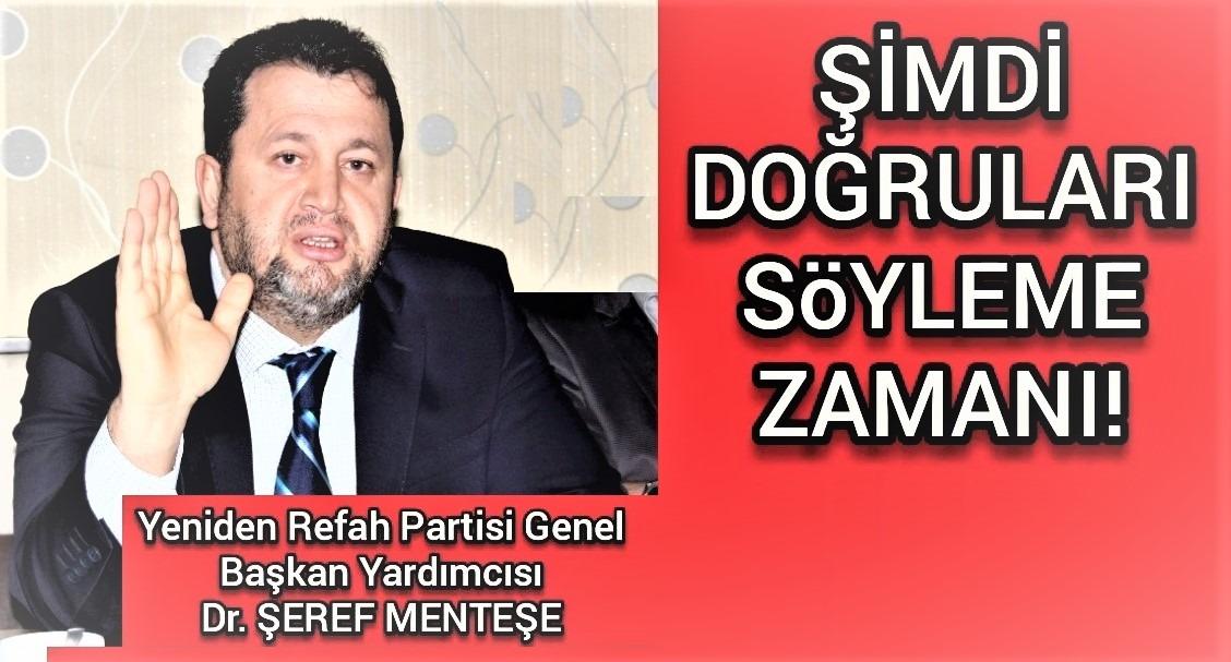 Dr Şeref Menteşe ;İktidarın İslam'a Verdiği Zararı kimse vermedi