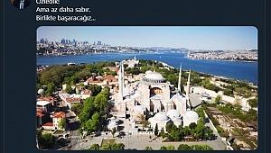 Heyecenlandıran Açıklama ;Ayasofya müze değil artık Ayasofya Camii olarak Hizmet