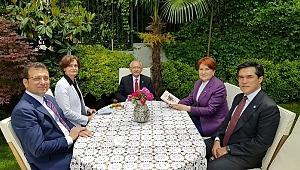 Kemal Kılıçdaroğlu Meral Akşener'i evinde ziyaret etti