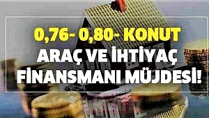 Kuveyt Türk Konut finansmanında 0,76'dan Araçta 0,80'den başlayan kar oranı