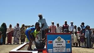 Ömer Döngeloğlu adına Çad'da su kuyusu açıldı.//Video Haber