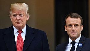Trump ve Macron'dan Libya görüşmesi