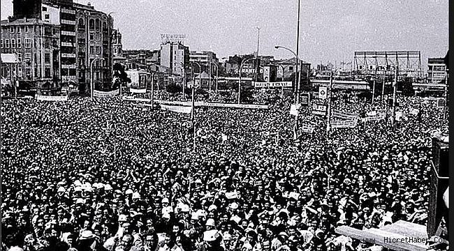 Türkiye'de 1 Mayıs İşçi Bayramı'nın Kutlanması…