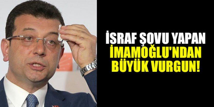 CHP'li İBB Başkanı Ekrem İmamoğlu'ndan Adrese Teslim Maske ihalesi
