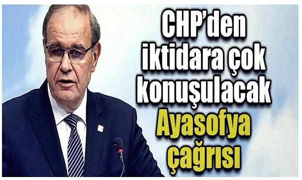 CHP Sözcüsü Faik Öztrak