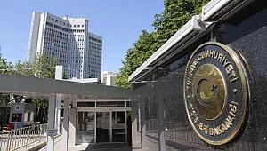Dışişleri Bakanlığı'ndan Afganistan'daki terör saldırısına kınama