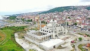 Doğu Karadeniz'in en büyük camisinde sona geliniyor
