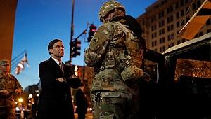 Esper kararı geri aldı: Askerler Washington'dan çekilmeyecek