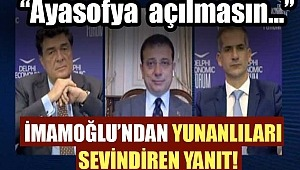 İBB Başkanı CHP li Ekrem İmamoğlu,
