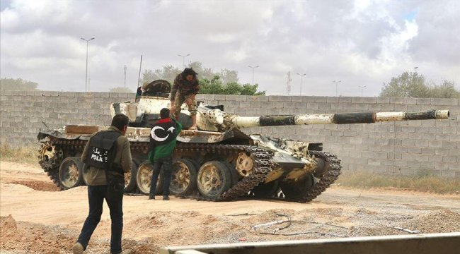 Libya ordusu, Ayn Zara ve Vadi er-Rebi'yi Hafter'den geri aldı