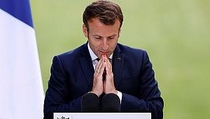 Macron'a soğuk duş! 'Türkiye'yi suçlarak komik duruma düşüyorlar'
