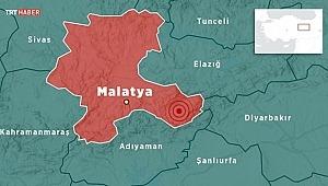 Malatya'da 5 büyüklüğünde deprem!