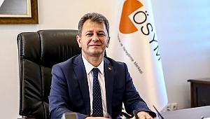 ÖSYM Başkanı Halis Aygün'den YKS paylaşımı