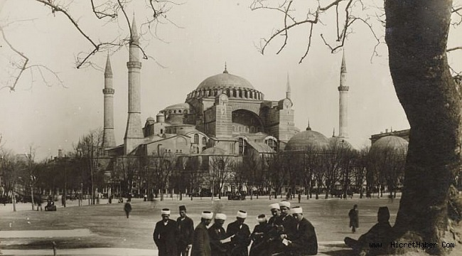 Zamanında Ayasofya'yı Bizans'a peşkeş çektiler