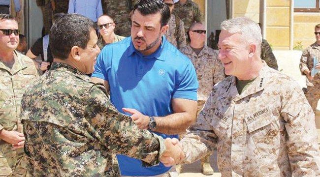 Amerikalı komutan yine o teröristle