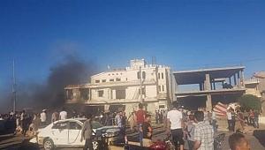 Azez'de bomba yüklü araç patladı! Ölüler ve yaralılar var