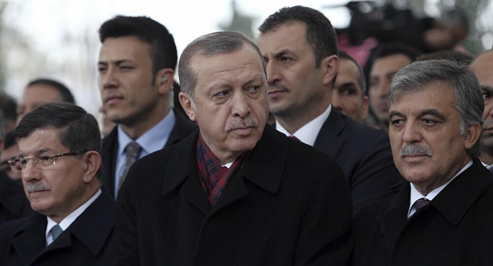 Başkan Erdoğan'na Abdullah Gül ve Davutoğlu'ndan Ayasofya Teşekkürü
