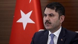 Çevre ve Şehircilik Bakanı Murat Kurum dan önemli açıklamalar
