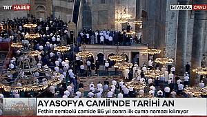 CHP'li Kazmaz'ın Ayasofya önerisi kabul edildi; o bölümünde namaz kılınmayacak