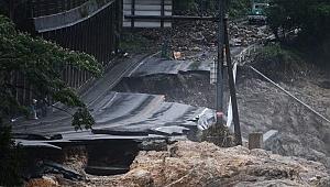 Japonya'da Etkili Olan Yağışlar Yüzünden En Az 58 Kişi Hayatını Kaybetti
