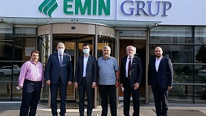 Müsiad Başkanı Kaan'dan Eminevim'e Ziyaret