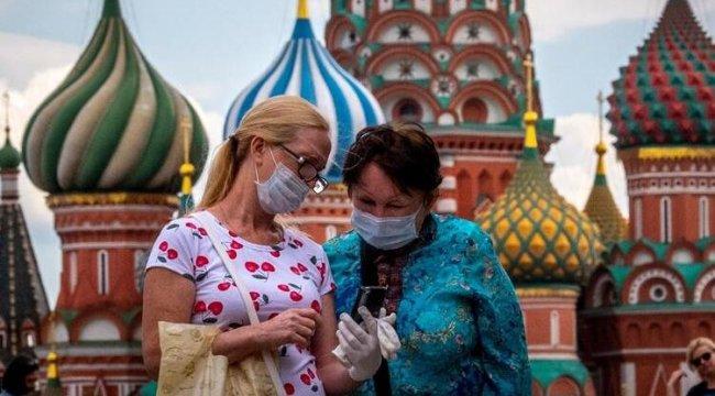 Rusya'da Covid-19 vaka sayısı 840 bine dayandı