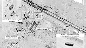 Rusya'nın Libya'daki askeri ekipmanları görüntülendi