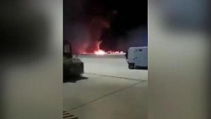 Son dakika! ABD'de eğitim uçuşu yapan F-16 savaş uçağı düştü