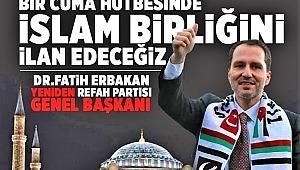 Yeniden Refah Partisi Cumhurbaşkanın Ayasofya Camii'nin Aslına çevirdiği için teşşekür etti