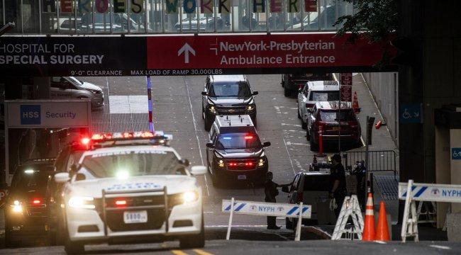ABD Başkanı Trump, New York'taki hastanede tedavi gören kardeşini ziyaret etti