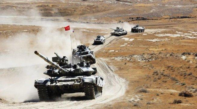 Azerbaycan'da komando araziye çıktı