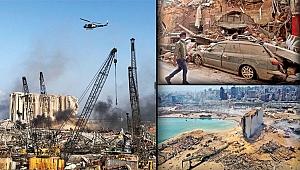 Beyrut'ta yıkım... Facia nasıl geldi