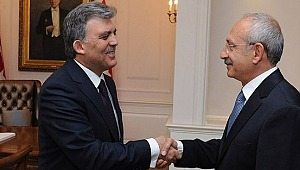 CHP'nin cumhurbaşkanı adayı Abdullah Gül