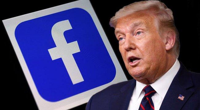 Donald Trump'a bir de Facebook şoku! 'Bu durum politikalarımızın ihlalidir'