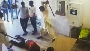 Fransa'da 'maske takın' diyen iş yeri sahibine saldırdılar