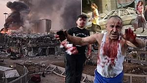 Lübnan'ın başkenti Beyrut'ta büyük patlama! 63 ölü, 3 binin üzerinde yaralı