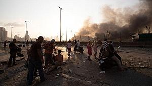 Lübnan Kızılhaçı: Beyrut'taki patlamada yüzlerce yaralı var