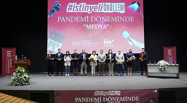 """""""PANDEMİ DÖNEMİNDE HABERCİLİK"""" ÖDÜLLERİ SAHİPLERİNİ BULDU"""