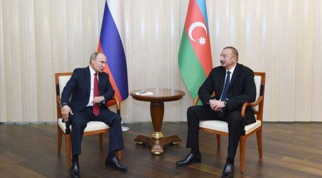 Putin ve Aliyev'den kritik görüşme