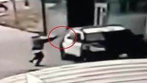 ABD'de polis aracına silahlı saldırı! Trump'tan idam çağrısı