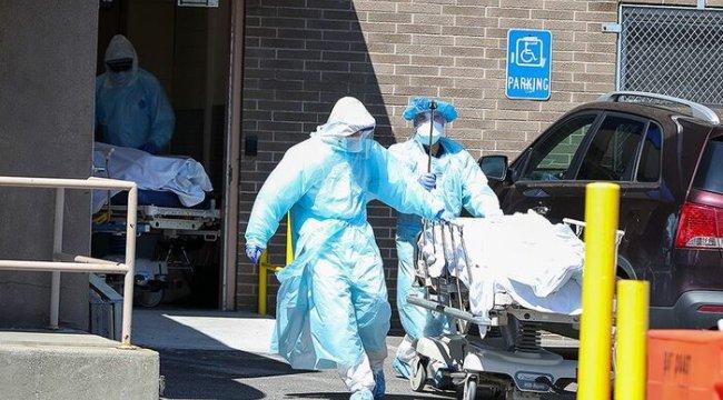 ABD'de son 24 saatte koronavirüsten 444 kişi hayatını kaybetti