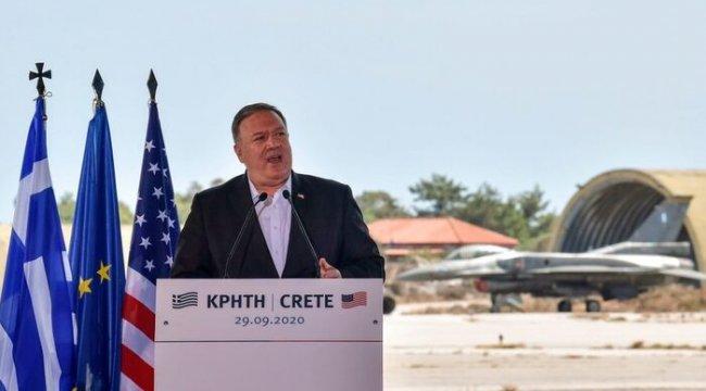 ABD Dışişleri Bakanı Pompeo: Yunanistan'la ilişkilerimiz en üst düzeyde