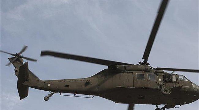 'ABD ordusuna ait askeri helikopter Suriye'de düştü' iddiası