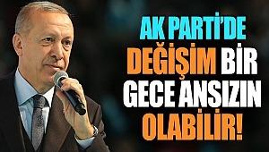 AK Parti'de kongre öncesinde değişim