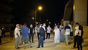 Bursa'da fabrikadan sızan gaz ve koku mahalleyi sokağa döktü