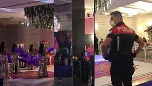 Bursa'da polisten otele kına baskını! 75 bin 600 lira ceza kesildi