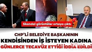 CHP'li Didim Belediye Başkanı Ahmet Deniz Atabay iş isteyen kadına tecavüz etti iddiası
